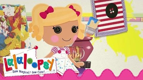Spot Splatter Splash Sewn On Date Lalaloopsy