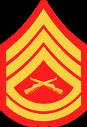 Gunnery Sergeant insignia