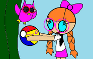 THATS SILLY MISS BEACH BALL