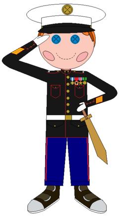 Lieutenant Magic Legs