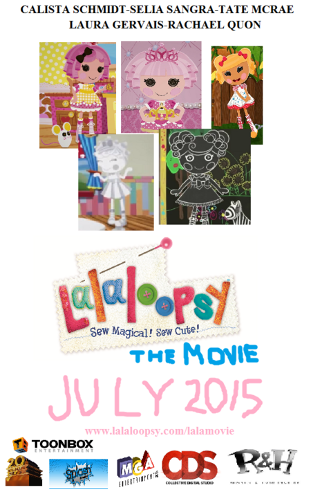 Lalaloopsy The Movie Theriticial Release Poster