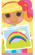 April as Rainbow Dash