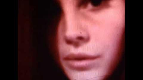 """Unreleased home made """" Pretty When You Cry - Lana Del Rey """" music video preview."""