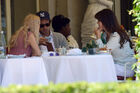 Out for lunch with Francesco Carrozzini and Franca Sozzani in Stresa2C Italy 28August 229 281329