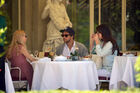 Out for lunch with Francesco Carrozzini and Franca Sozzani in Stresa2C Italy 28August 229 28529