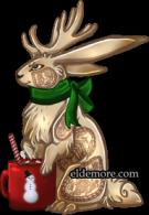 Festive Cookie Jackalopes5