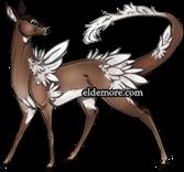 White tailed