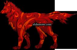 Ornate Swirl Dire Wolves3
