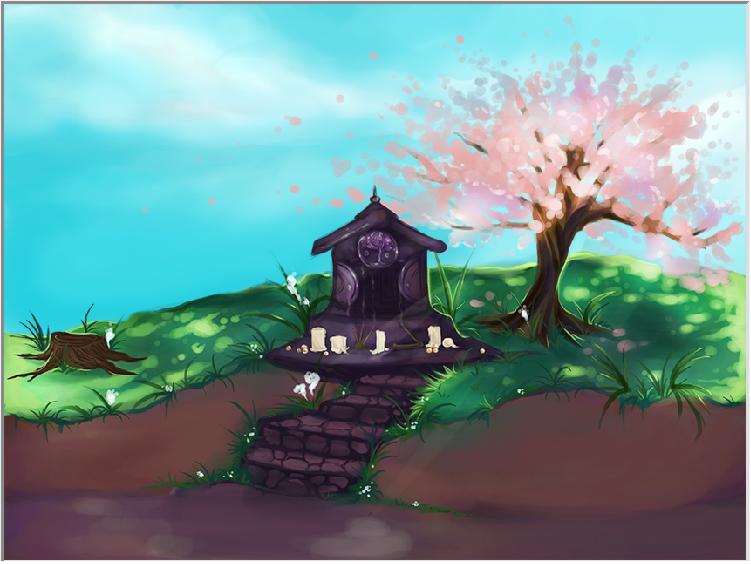 Shrine in the Meadow