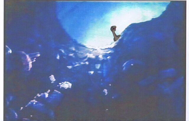 File:Land Before Time Original Production LITTLEFOOT Cel & Copy Bkgd -A026.jpg