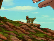 First appearance of Green Sharptooth