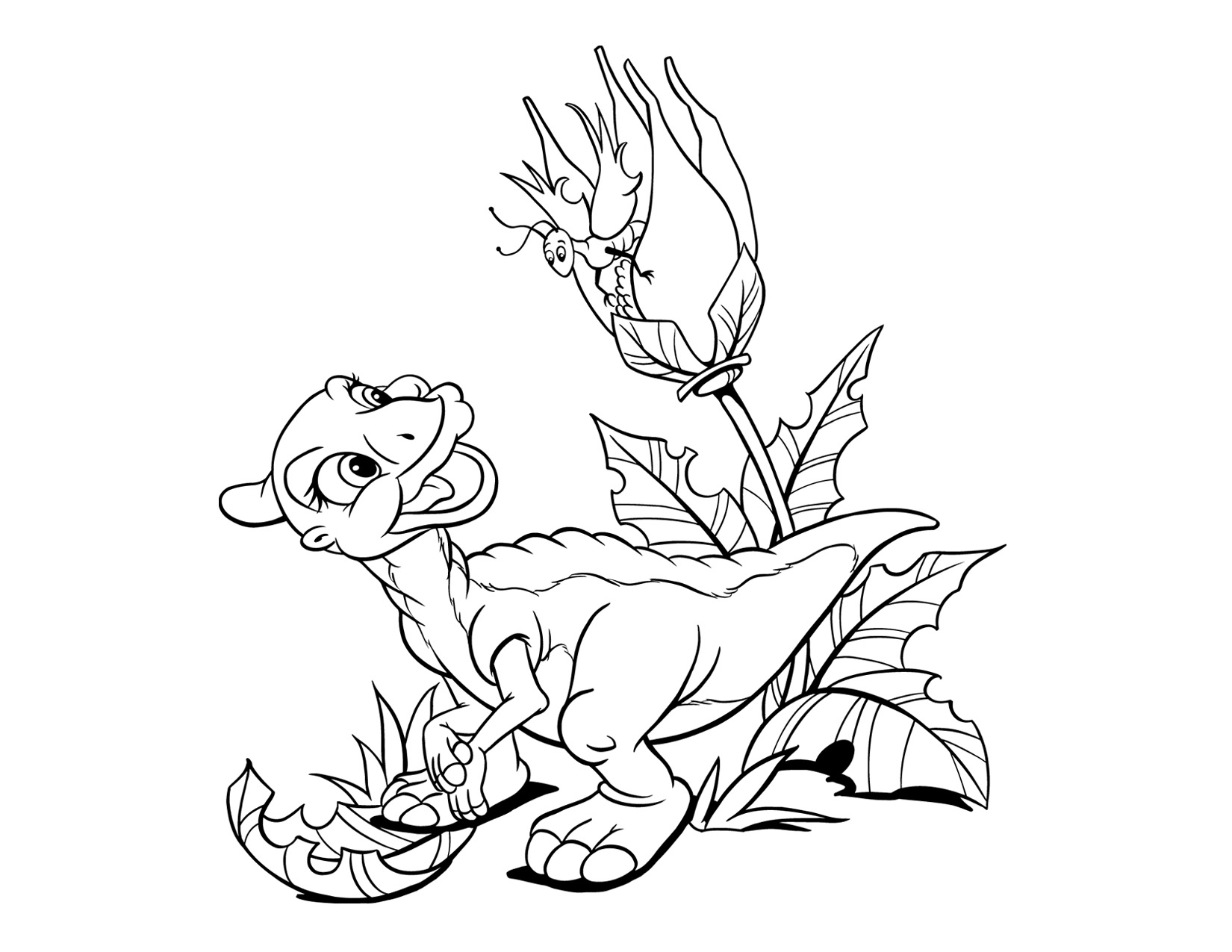 Image Coloring Page 3 movie 6png Land Before Time Wiki
