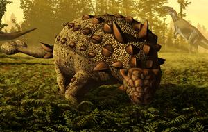 Scolosaurus feeding
