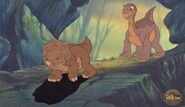 Littlefoot and Cera