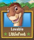 Lovable Littlefoot