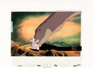The Land Before Time Littlefoot and Mother Production Cel 1 Setup