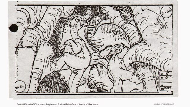 File:Don Bluth Storyboards Land Before Time 012.jpg