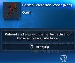 Formal-victorian-wear-red