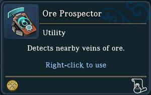 Ore Prospector