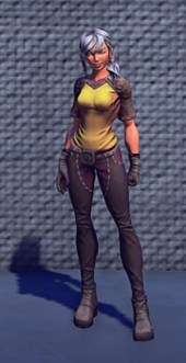 Artisans Outfit Yellow Equip