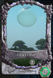 Looks clear