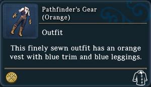 Pathfinders Gear Orange examine