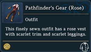 Pathfinders Gear Rose examine
