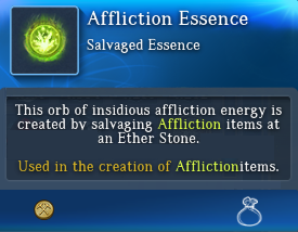 Affliction Essence