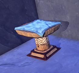 Wooden Kerran Table prop