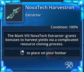 Novatech-harvestron