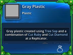 Gray-plastic