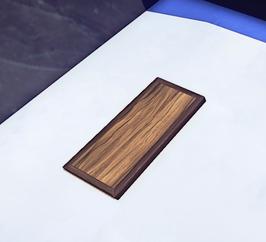 Plain Wood Trapdoor prop placed