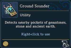 Ground Sounder