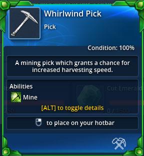 Whirlwind-pick