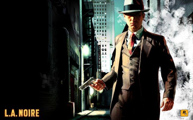 File:L.A. Noire original artwoork - Cole Phelps.jpg