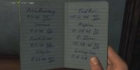 Schroeder's Notebook