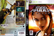 Tomb Raider Legend X360 PAL Cover