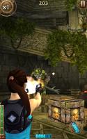 Relic Run Lara Shooting Lizardman