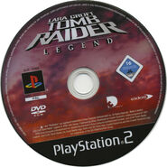 Tomb Raider Legend PS2 PAL CD