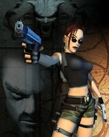 Tomb Raider The Angel of Darkness 2003 Render