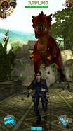 Red T-Rex