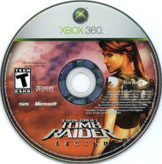 Tomb Raider Legend X360 NTSC CD
