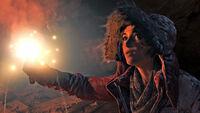 Lara With Glowstick