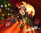 Lara Croft Christmas