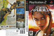 Tomb Raider Legend PS2 PAL COVER
