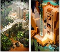 Lara Croft GO Concept 3