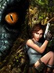 T-Rex Sees Lara