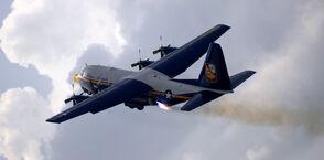 Blue angels c-130