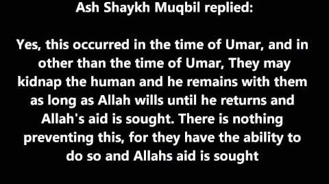 Shaykh Muqbil Can the Jinn kidnap Humans?