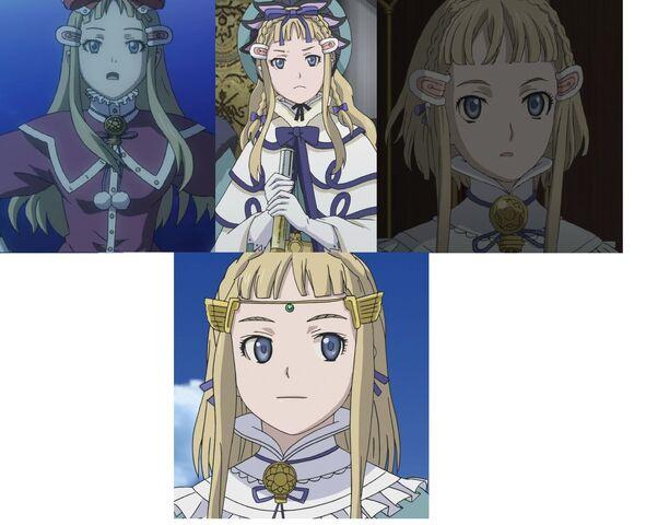 File:Millia throughout the series.jpg